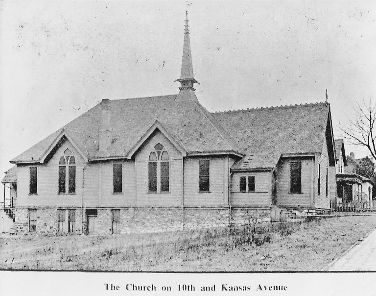 Church on 10th and Kansas Avenue
