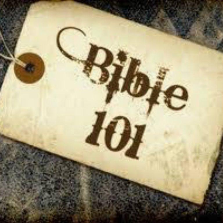 Bible 101 sermon