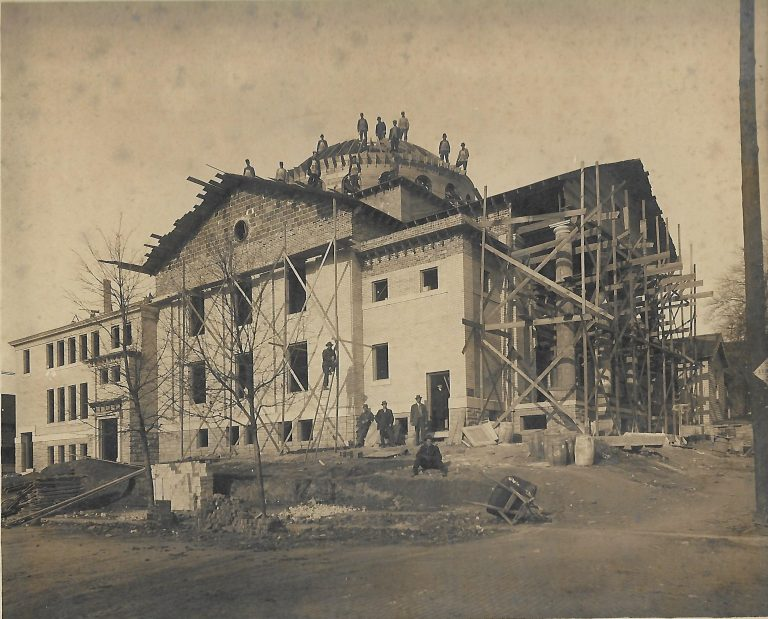 Building the 7th & Santa Fe church