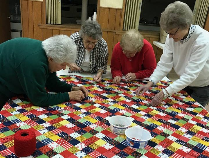 CWF Sewing Ladies
